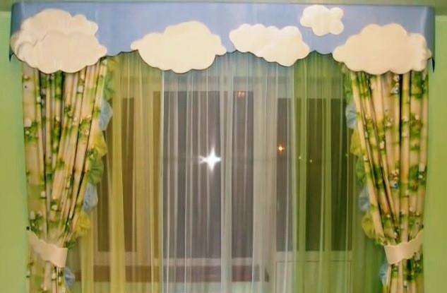 Купить или пошить шторы в детскую комнату