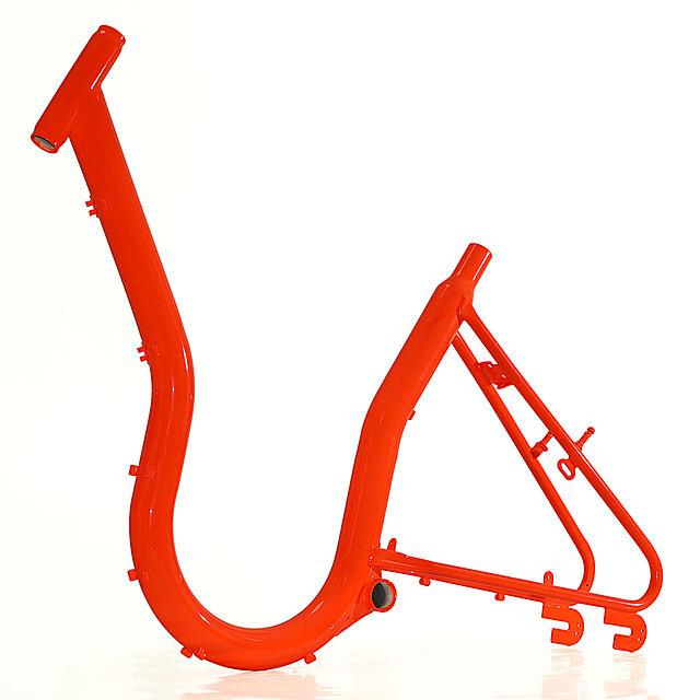 Порошковая покраска деталей велосипедов. Кривой Рог.