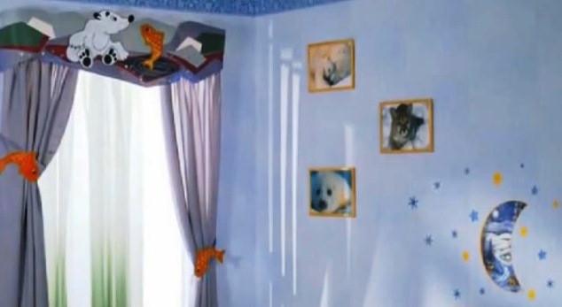 ткань для штор в детскую комнату купить в Киеве