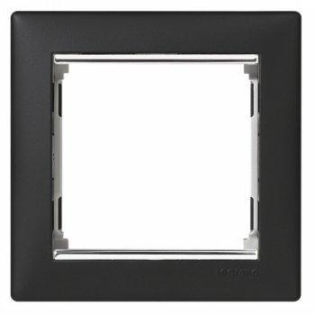 Рамка 1 пост. ноктюрн/серебро, Legrand Valena 770391