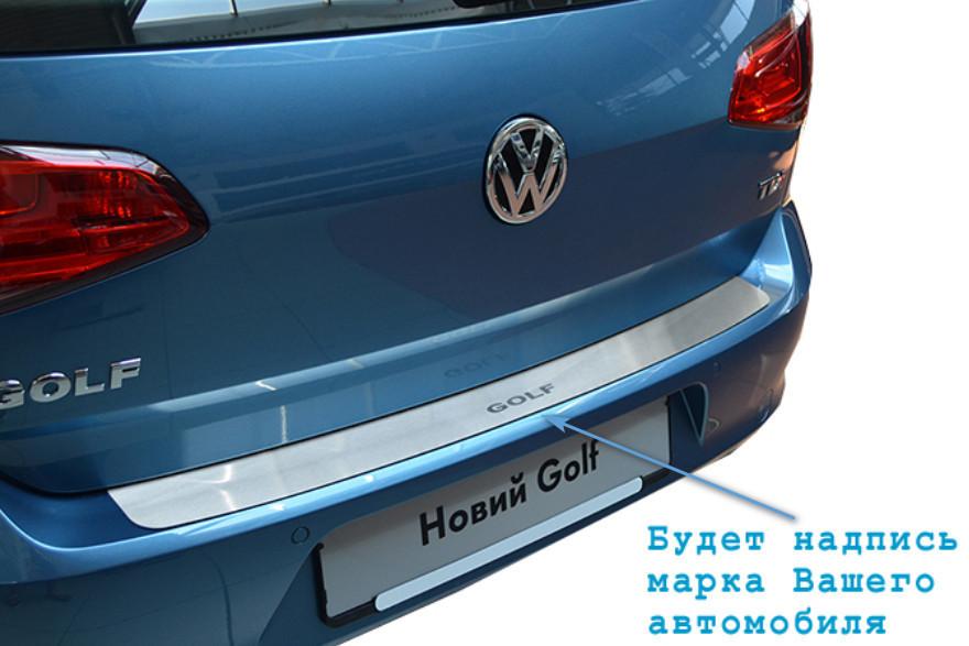 Накладка на бампер Fiat LINEA FL 2012- / Фиат Линеа Nataniko