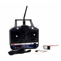 Аппаратура управления 6-канальная FlySky FS-CT6B 2.4GHz с приёмником R6B, фото 1