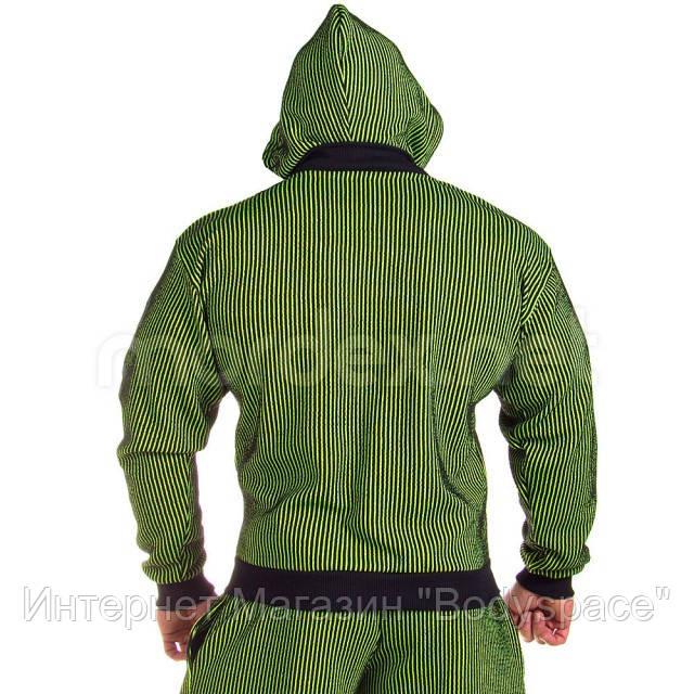 Mordex, Толстовка Mordex MD3688 B черный/зеленый