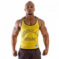 Gorilla Wear, Майка Logo Stringer Tank Top Yellow