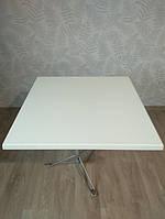 Столешница белая квадратная Werzalit Верзалит Германия оригинал 80*80 см