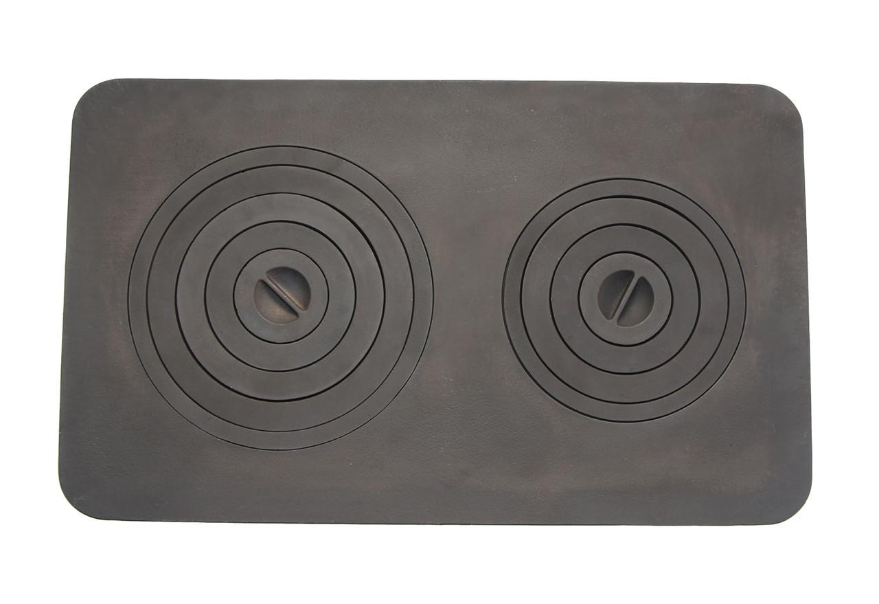 Плита чугунная, печная 740х440 мм