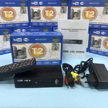 Тюнер Т2 - DVB-T2 + HD плеер, цифровой ресивер DVB-T2 megogo, фото 2