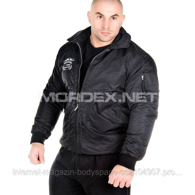 Mordex, Куртка для бодибилдинга KR-001, черная