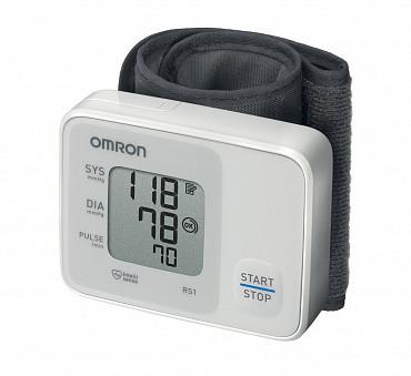 Автоматический тономер на запястье Omron RS1