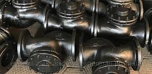 Клапан зворотний 16ч6п підйомний фланцевий чавунний Ду100 Ру16