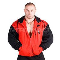 Mordex, Толстовка теплая New Line Euro Gym, Красный/Черный