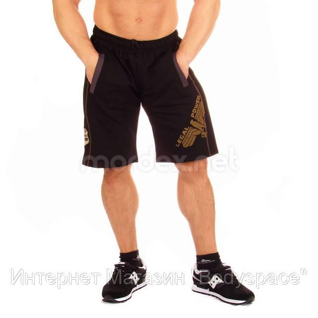 LegalPower, Фитнес-шорты Eagle, черные