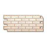 Фасадна панель Альта-Профіль Цегла 1130х470х20 мм Білий, фото 2
