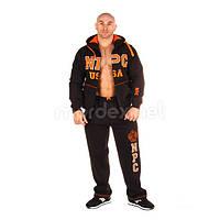 NPC, Костюм спортивный теплый NPC USA Fleece Suit, черный/оранжевый, фото 1