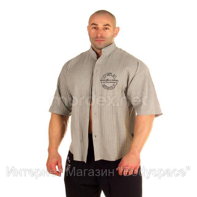 NPC, Рубашка 3/4 Sleeve Rib Top, светло-серая