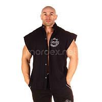 NPC, Рубашка Sleeveless Rib Top, черная, фото 1