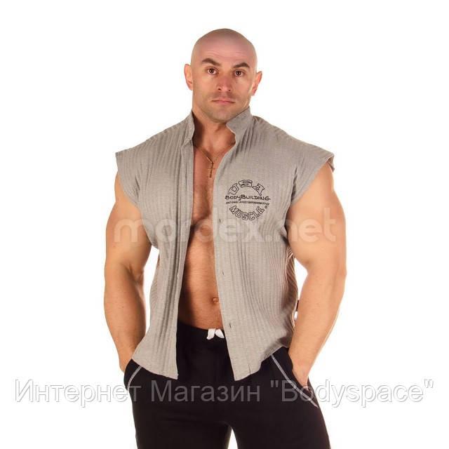 NPC, Рубашка Sleeveless Rib Top, светло-серая