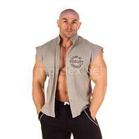 NPC, Рубашка Sleeveless Rib Top, светло-серая, фото 1