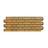 Фасадна панель Альта-Профіль Клінкерна цегла 1220х440х20 мм Бежевий, фото 2