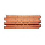 Фасадна панель Альта-Профіль Клінкерна цегла 1220х440х20 мм Червоний, фото 2
