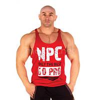 NPC, Майка Men's Go-Pro Tank Top, Красная