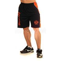 NPC, Шорты спортивные Micro/Polyester Short, Черный/Оранжевый, фото 1