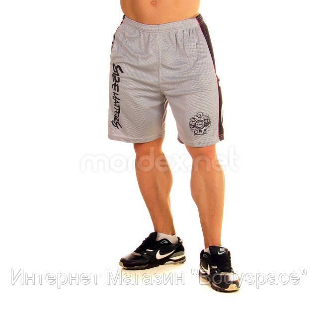 NPC, Шорты спортивные Micro/Polyester Short, Светло-серый