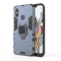 Чехол Ring Armor для Xiaomi Mi 8 Синий