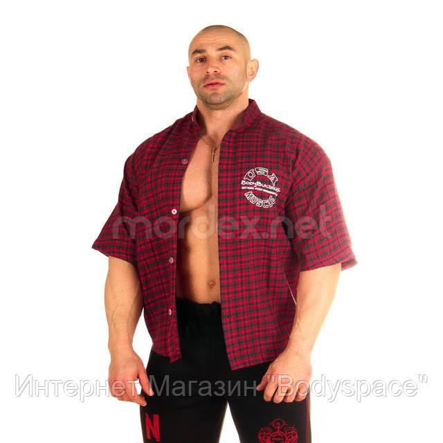 NPC, Рубашка 3/4 Sleeve Plaid Top, красная