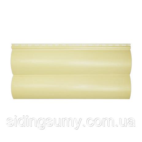 Сайдинг акриловый Альта-Профиль BlockHouse однопереломный 3100х200 мм дуб светлый