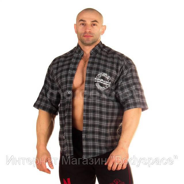 NPC, Рубашка 3/4 Sleeve Plaid Top, серая