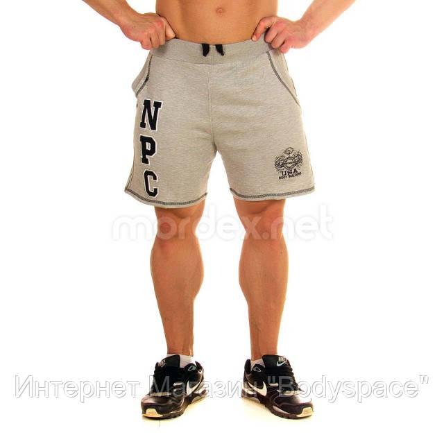 NPC, Шорты спортивные теплые Men's Fleece Shorts, Светло-серый