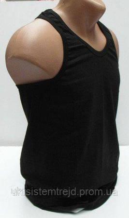 Майка мужская черная slim&corpion