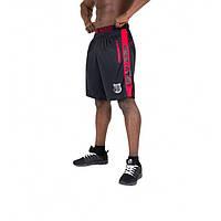 Gorilla Wear, Шорты спортивные Shelby Shorts - Black/Red, фото 1