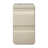 Сайдинг виниловый Альта-Профиль Flex двухпереломный 3660х230x1,1 мм сандаловый, фото 2