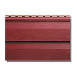 Сайдинг акриловый Альта-Профиль KANADA Плюс Премиум двухпереломный 3660х230х1,1 мм красный, фото 2