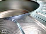 Овальная кухонная мойка из нержавеющей стали с крылом  Galati Taleyta Textura (Еко), фото 7