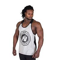 Gorilla Wear, Майка Roswell Tank Top - Gray/Black, фото 1