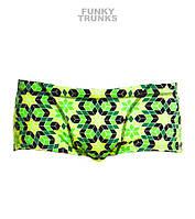 Хлоростойкие мужские плавки Funky Trunks Crystal Gold FT30 , фото 1
