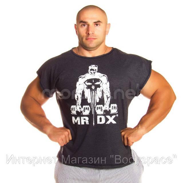 Mordex, Майка размахайка без рукавов MRDX MD5691, серая