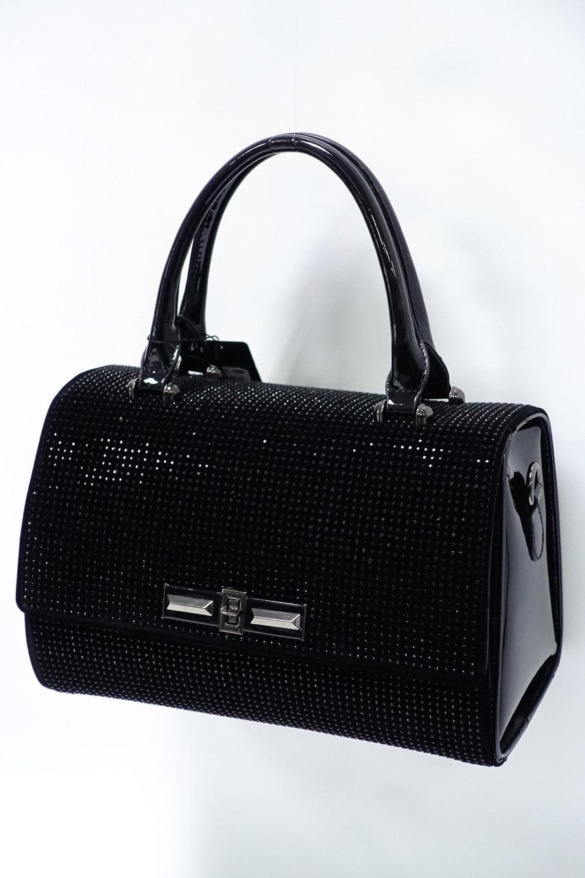 Женская каркасная сумка 301-36 black