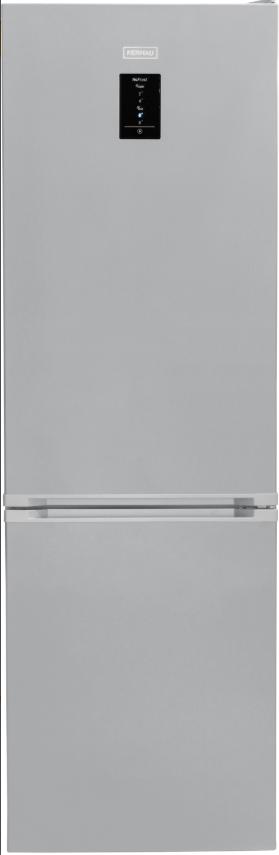 Окремо стоїть холодильник з морозильною камерою Kernau KFRC 18262 NF EIX