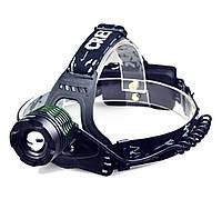 Налобный фонарь для рыбалки Bailong Police BL-2188B-T6 (мощный )+подарок