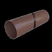 Водозливи труба коричнева 95 мм 3м Альта-Профиль для даху ПВХ (Труба коричневая) м.Львів