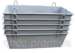 Ящик строительный для раствора, контейнеры. Объем 0,2 куб.м., фото 2