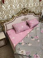 Комплект постільної білизни двоспальний СД-021