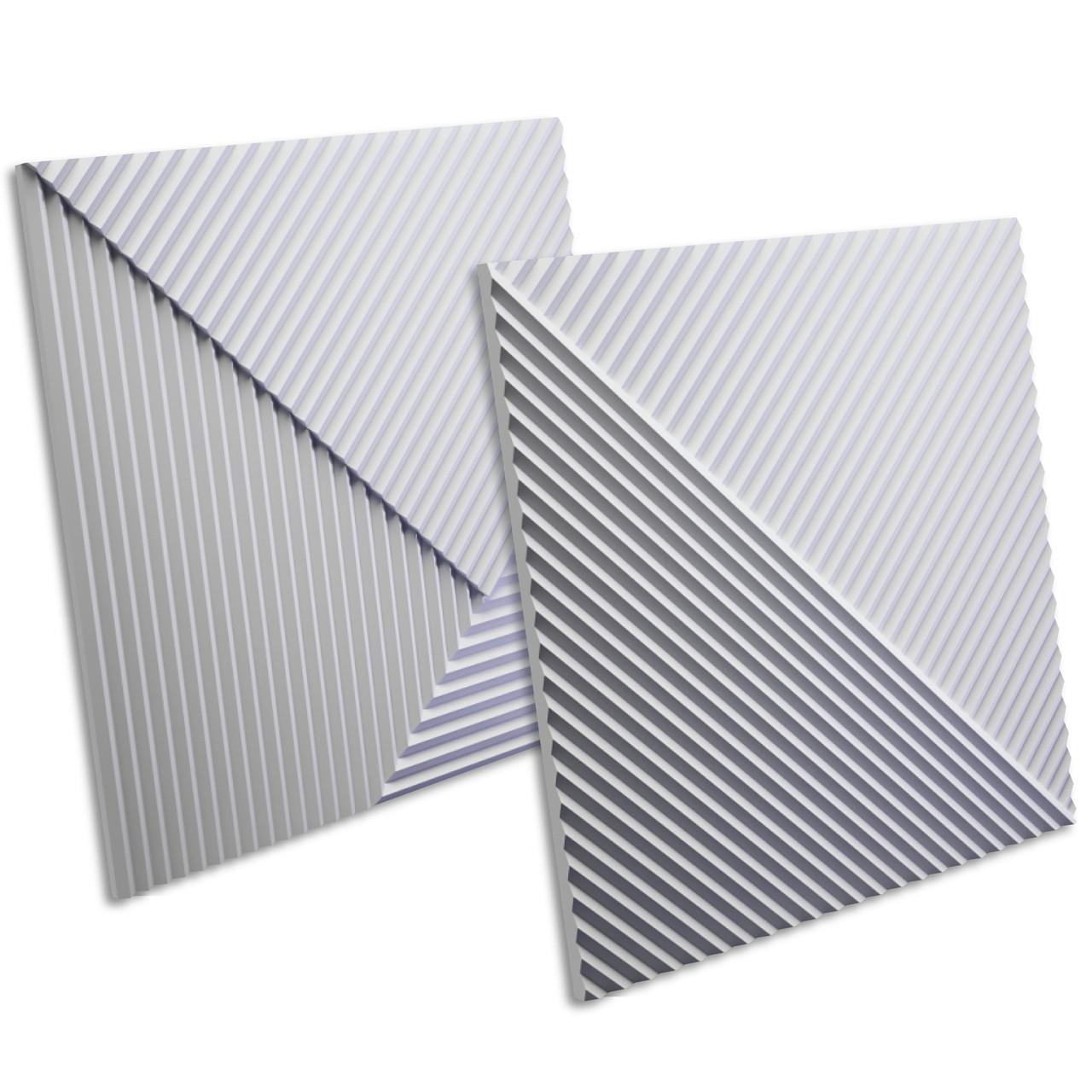 """3D панель """"Stripes"""" 600х600 мм."""