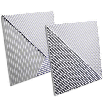 """3D панель """"Stripes"""" 500х500 мм."""