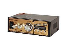 Усилитель звука UKC AK-699BT Bluetooth, USB, фото 3