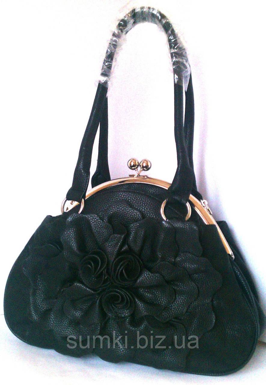 7020bbd0c842 Красивые женские сумки, с застежкой поцелуйчик - Интернет магазин сумок